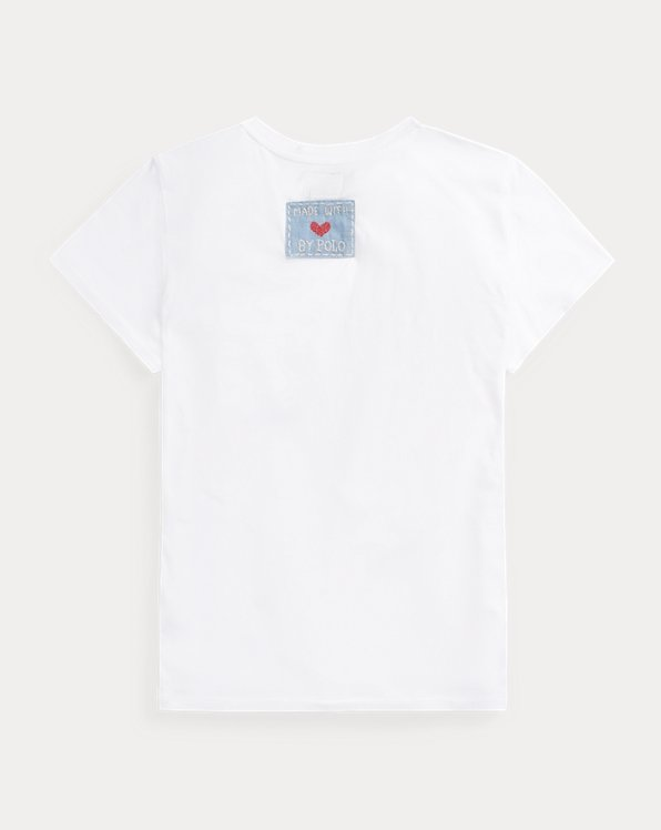 Patchwork Flag Cotton Tee