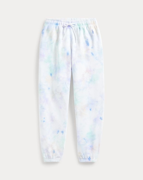 Tie-Dye Fleece Sweatpant