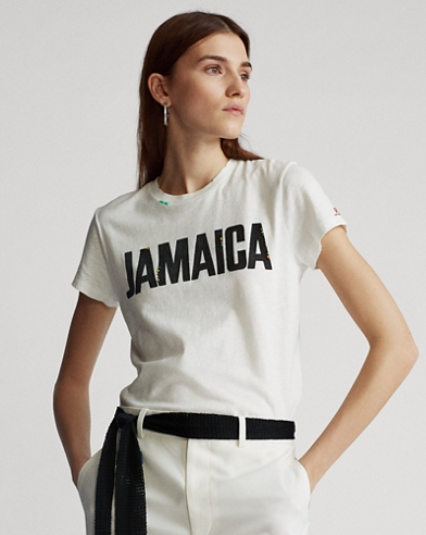 Camiseta Jamaica de manga corta