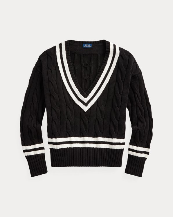 Pull cricket col en V
