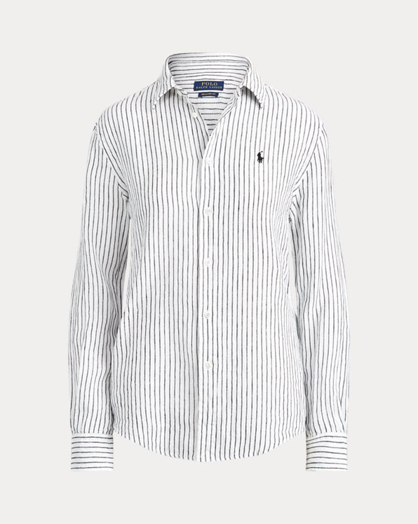 Camisa de lino Relaxed Fit