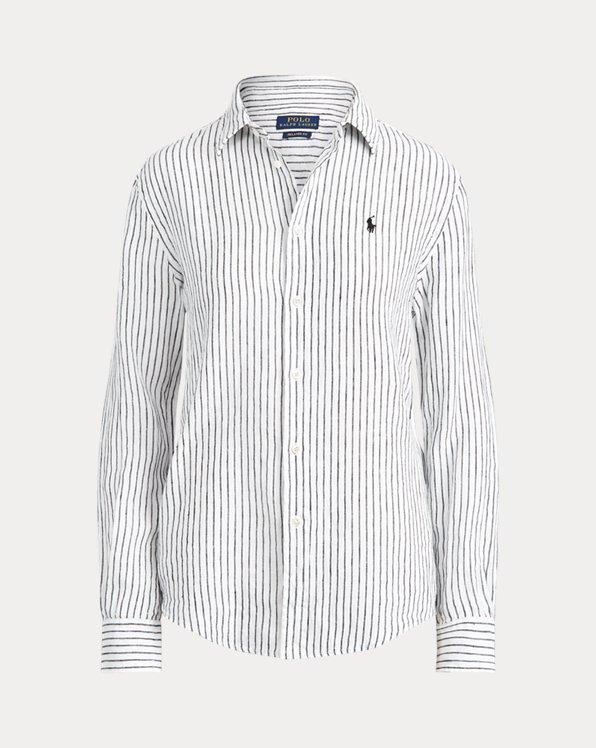 Relaxed Fit Linen Shirt