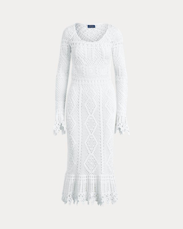 Crocheted Cotton Dress