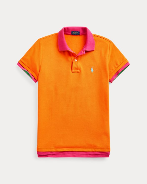 Double-Knit Cotton Polo Shirt
