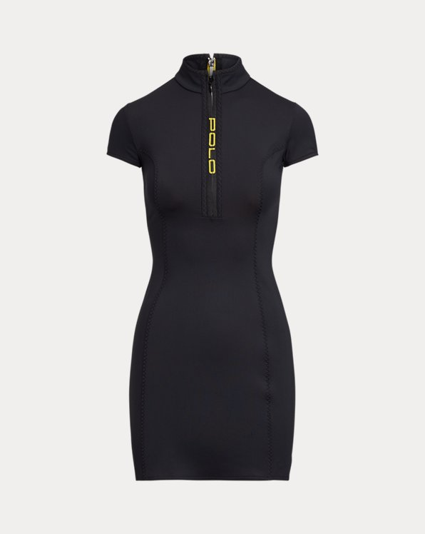 Stretch Quarter-Zip Dress