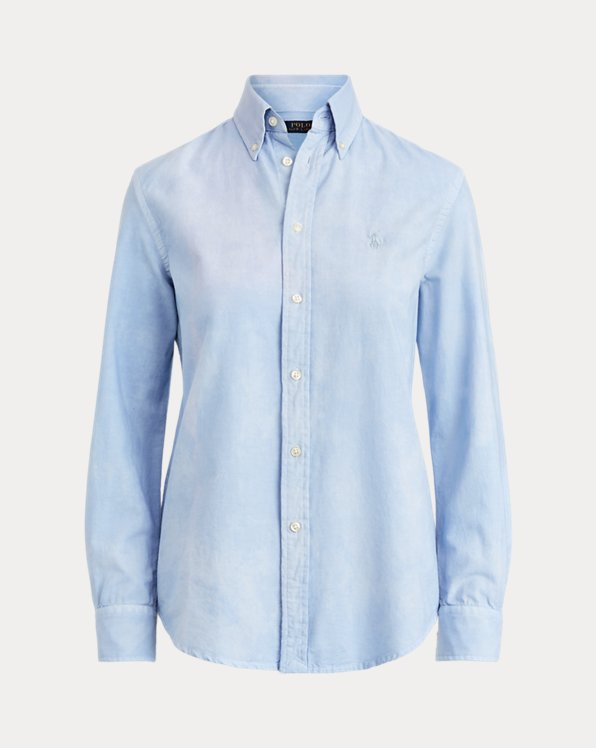 Camicia in cotone Relaxed-Fit