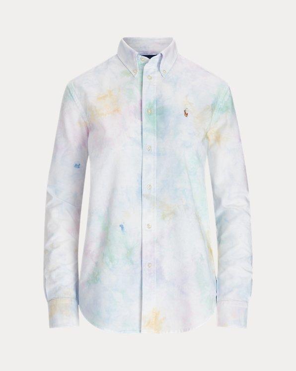 Camicia Oxford tie-dye