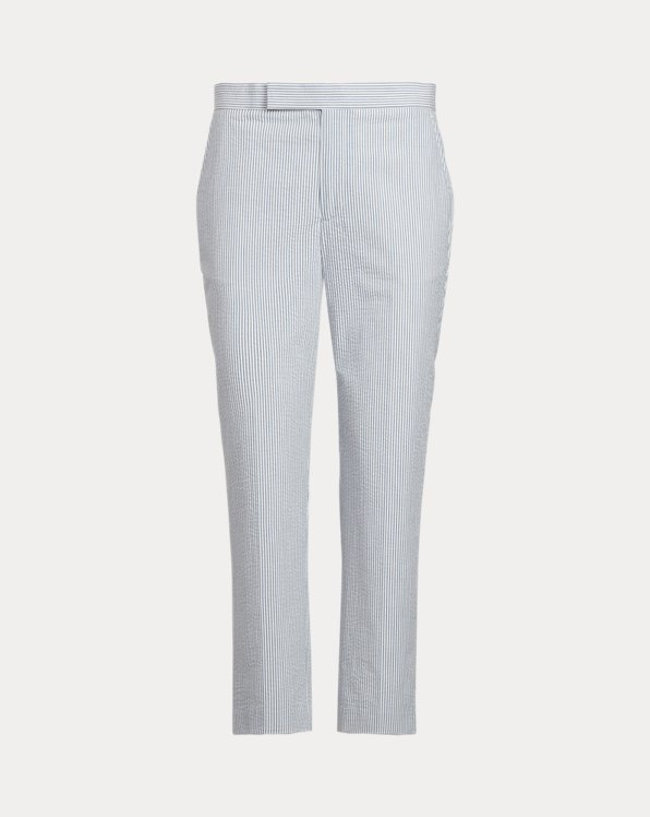 Cotton Seersucker Trouser