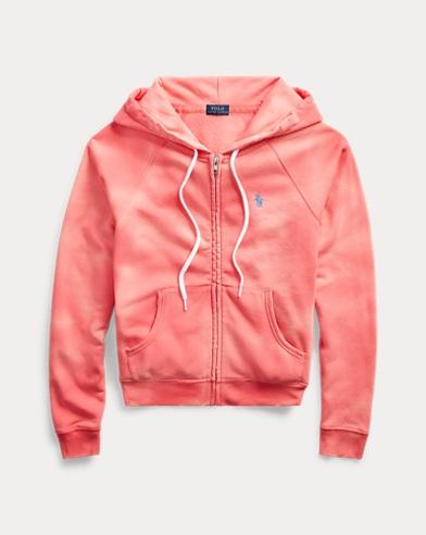 Tie-Dye Fleece Full-Zip Hoodie