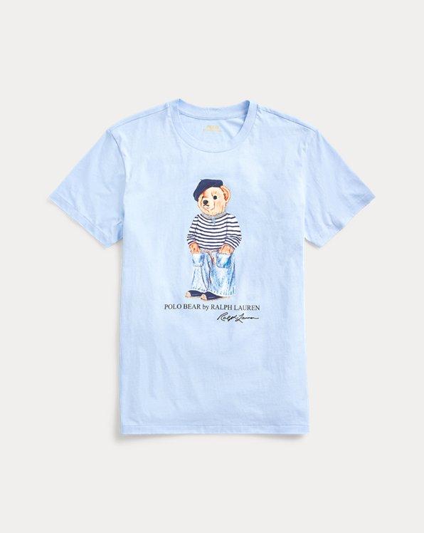 Rundhals-T-Shirt mit Polo Bear