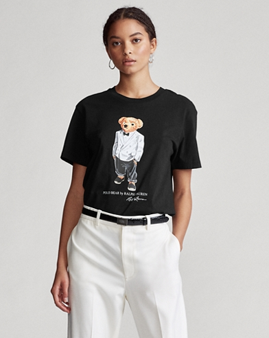 Big Fit Tuxedo Polo Bear Tee