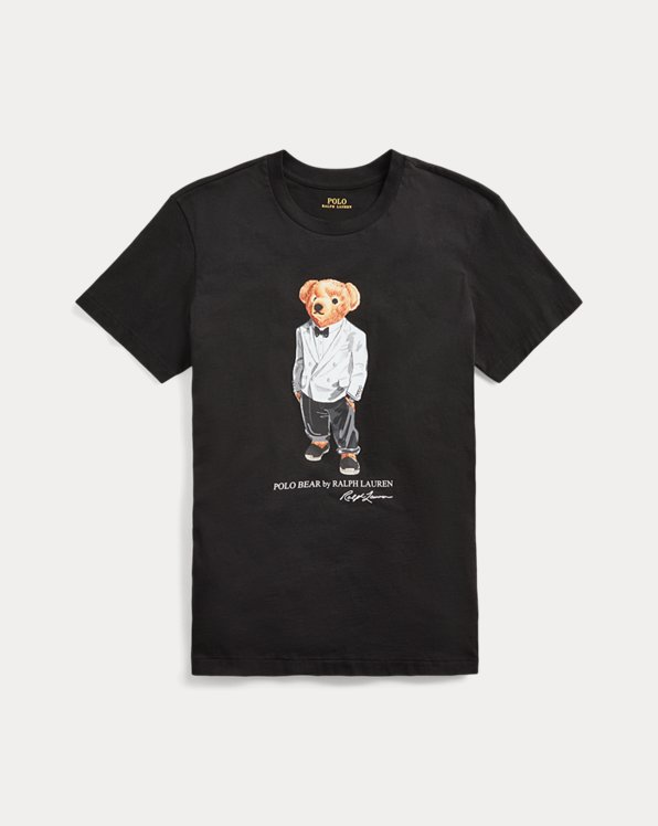 Big Fit Tuxedo Polo Bear Tee