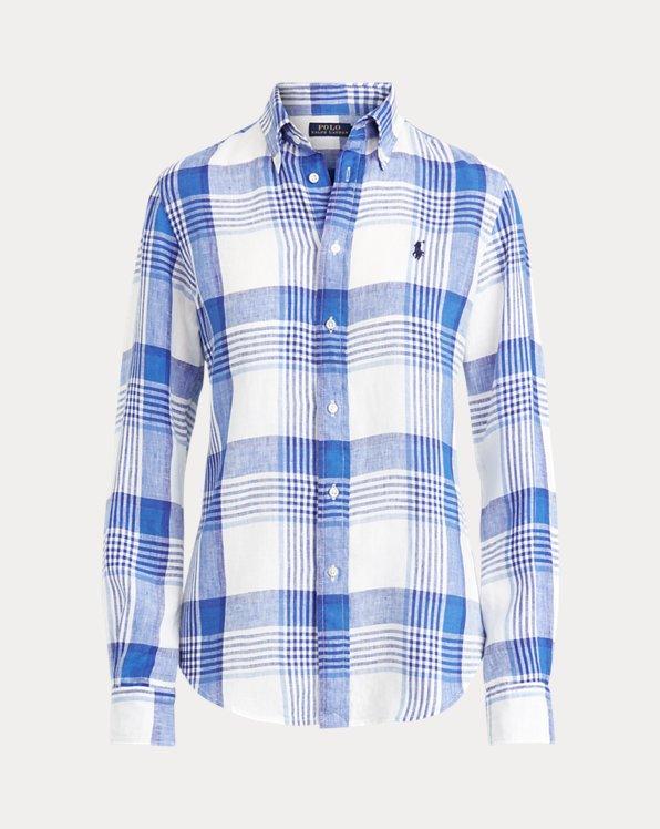 Linen Madras Shirt