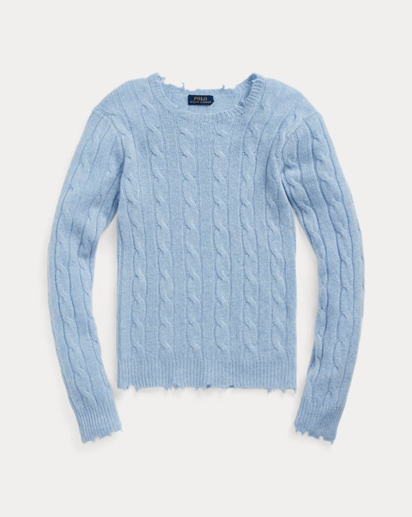 Distressed Cashmere Jumper