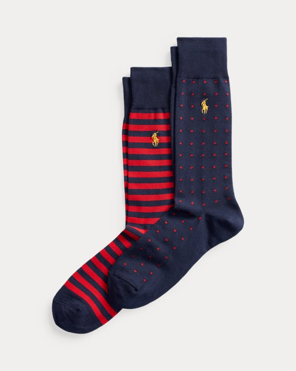 Dot & Stripe Sock 2-Pack