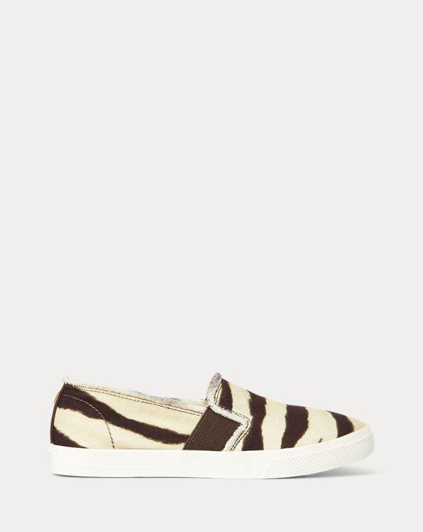 Jinny Zebra Slip-On Sneaker