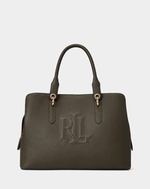 Leather Medium Hayward Satchel