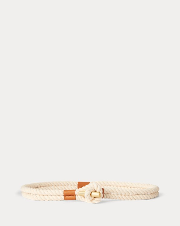Medium Cotton Rope Belt