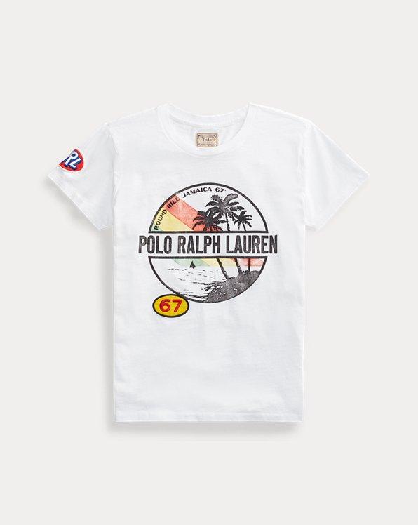 T-shirt graphique à manches courtes