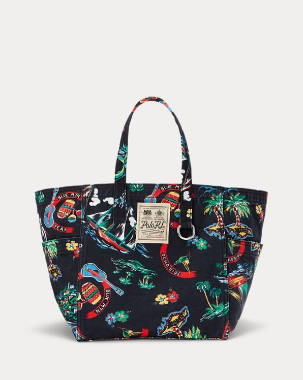 Canvas Medium Graphic Tote