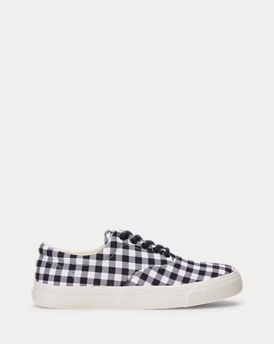 Bryn Gingham Canvas Sneaker