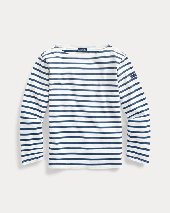 Striped Boatneck Shirt