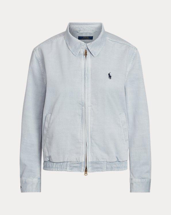 Jacke aus Baumwollchino