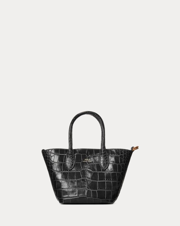 Mini tote Bellport goffrata