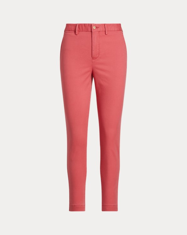 Pantalon en chino stretch