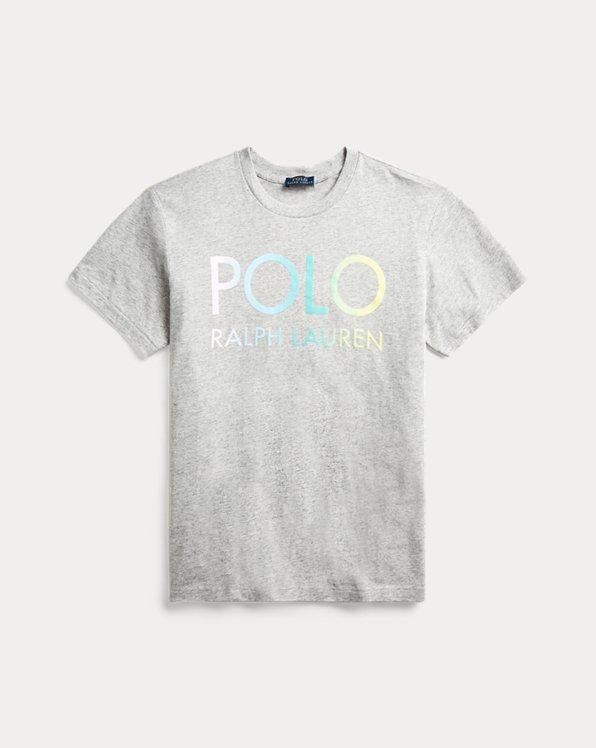 T-shirt logo dégradé grande taille