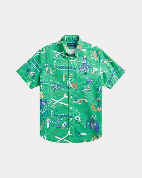 Classic Fit Tropical Shirt