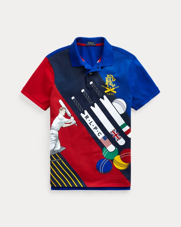 Classic Fit Cricket Mesh Polo