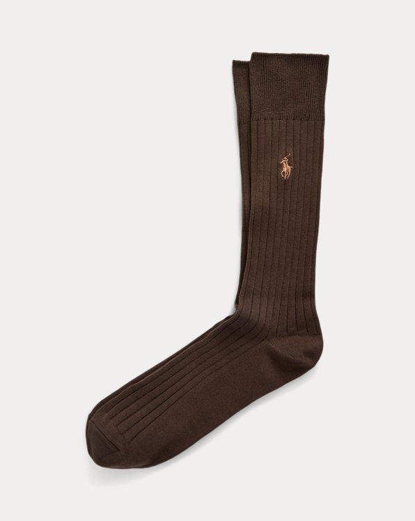 Egyptian Cotton Ribbed Socks