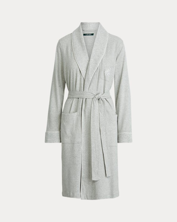 Short Shawl-Collar Robe