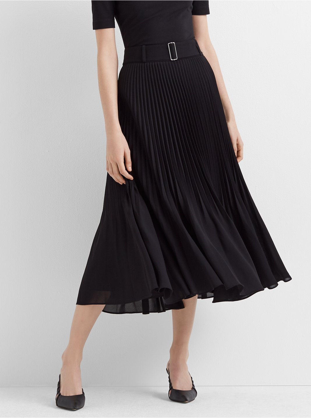 Split Pleat Skirt