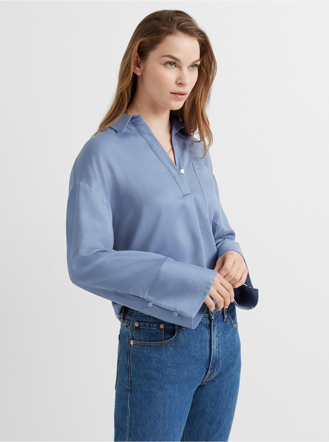 Popover Pocket Shirt