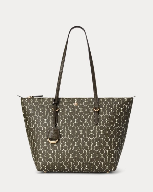 Faux-Leather Small Tote