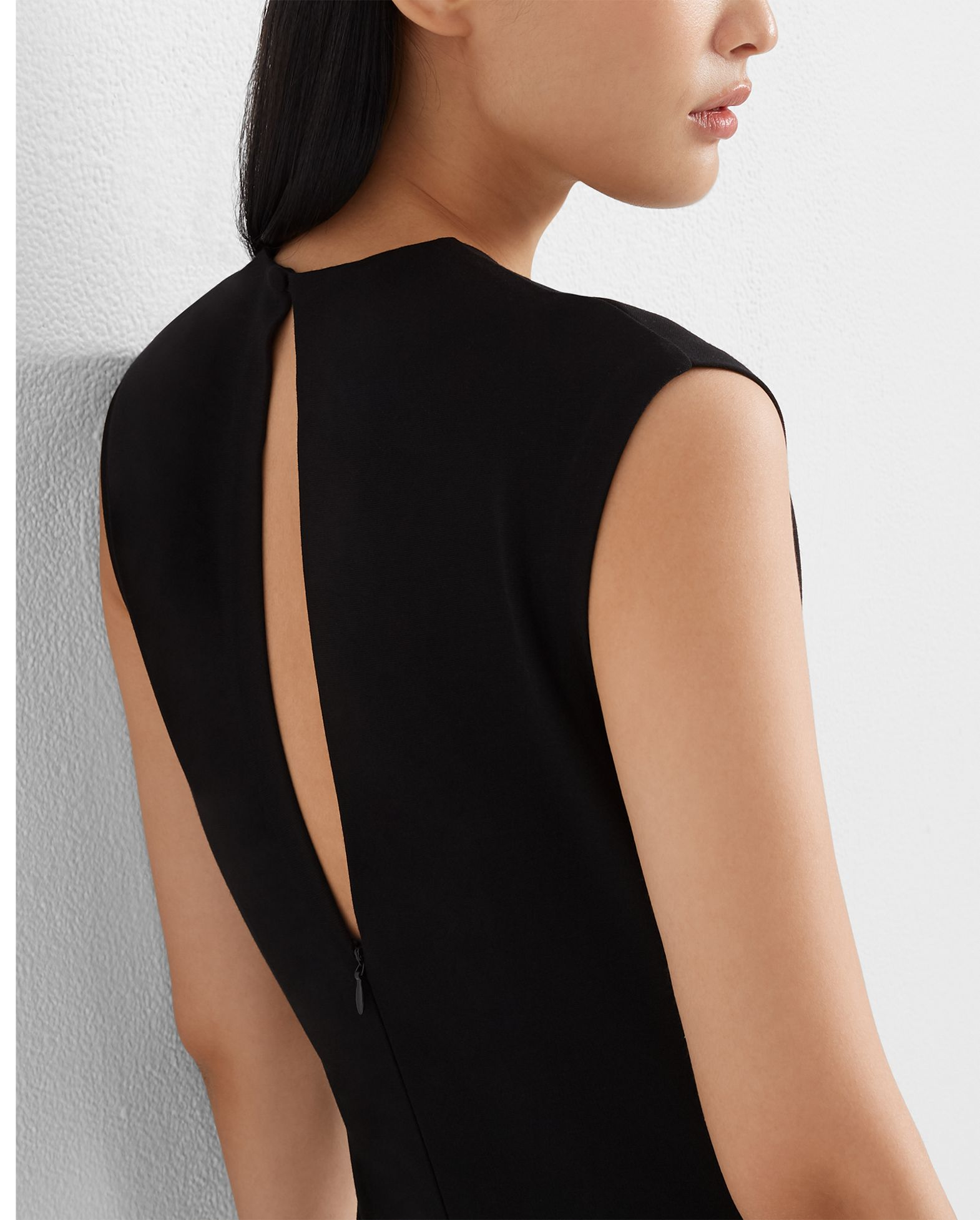 Polished Ponte Knit Dress