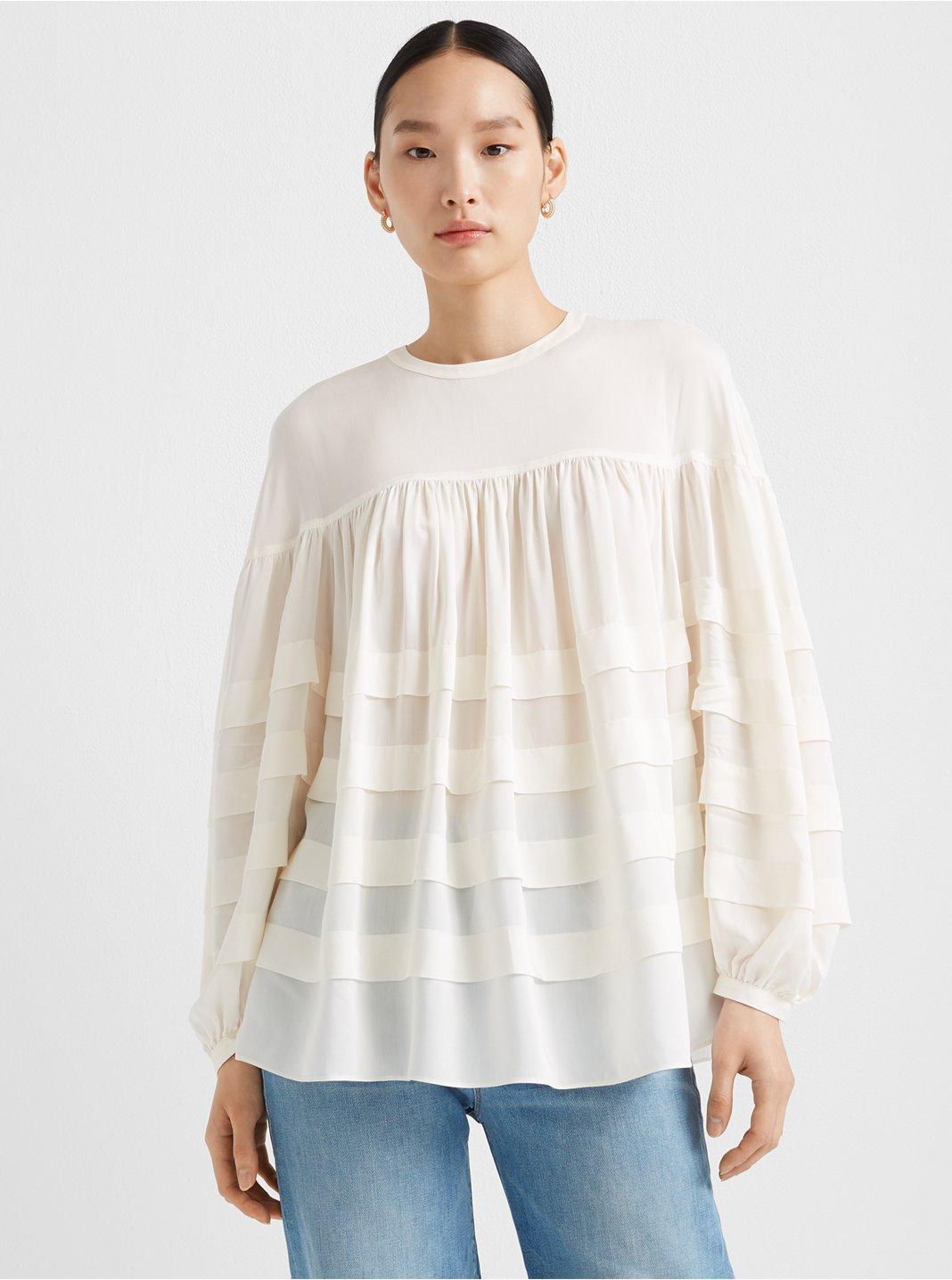 Layered Tuck Shirt