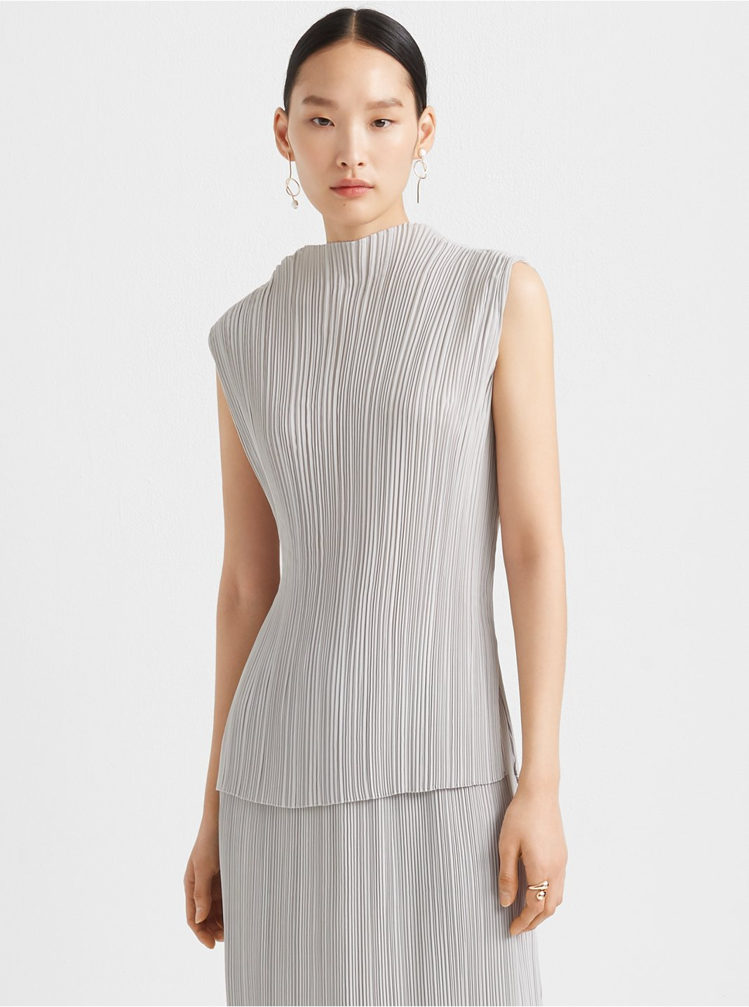 Micropleat Top