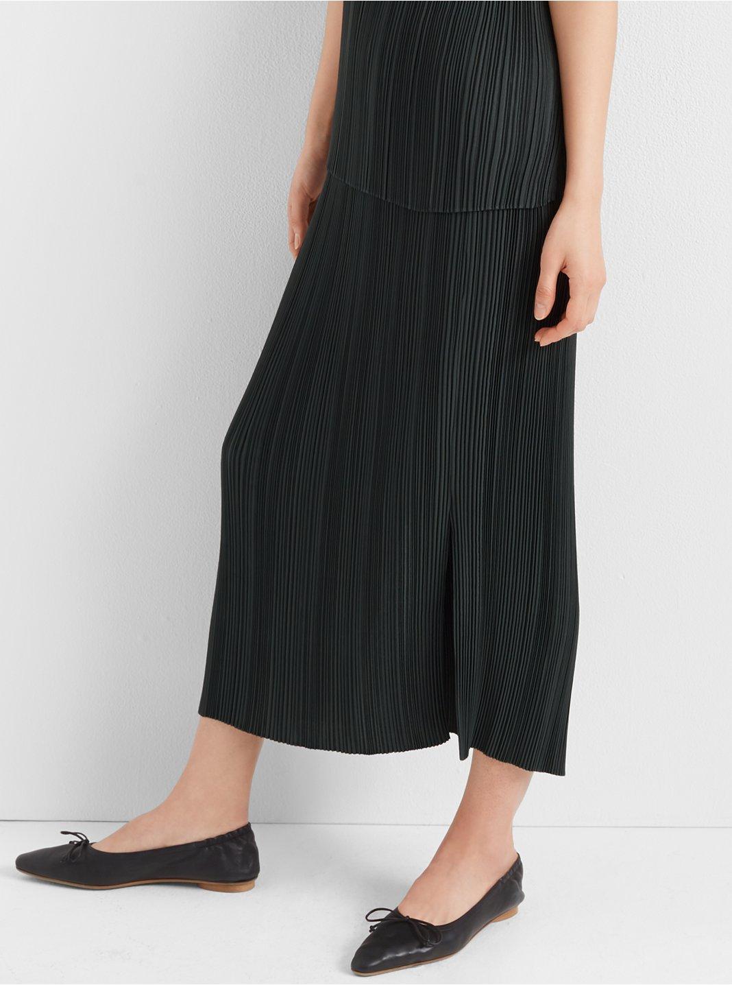 Micro-Pleated Skirt