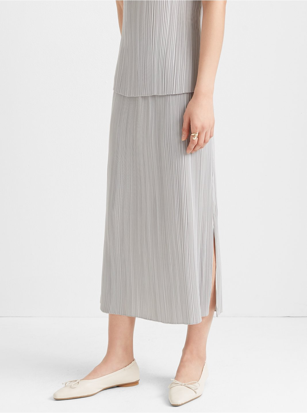 Micropleat Skirt