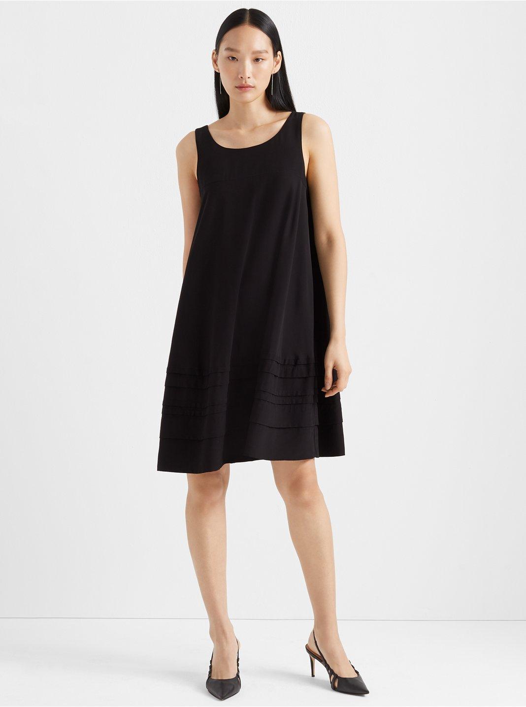 Layered Tuck Dress