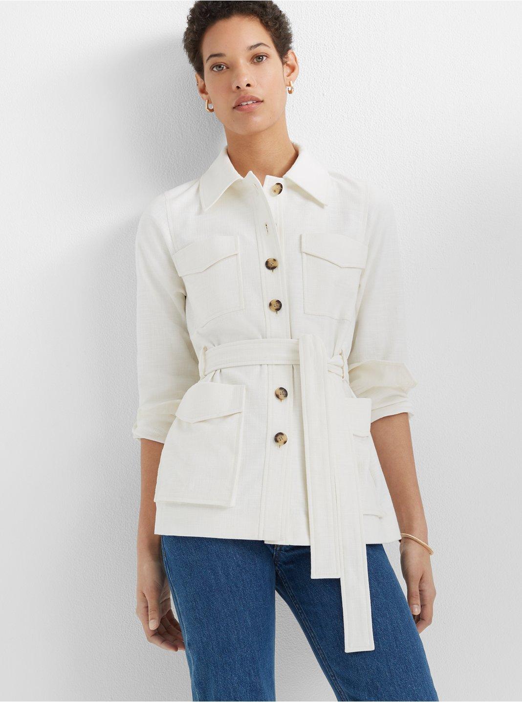 Textured Utility Jacket