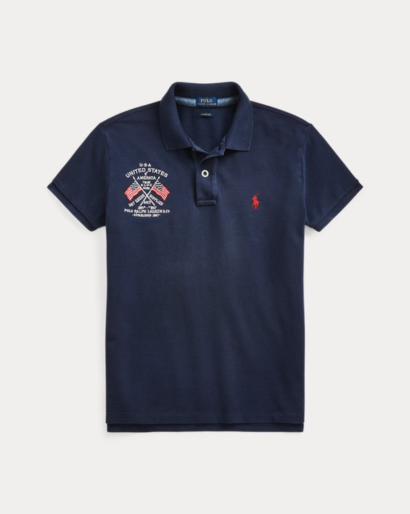 Classic Fit Eagle Polo Shirt