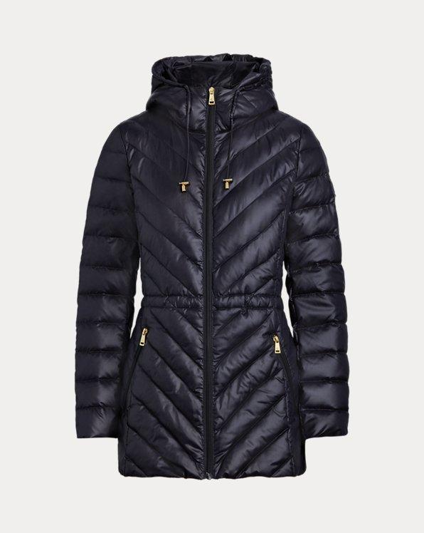Down Anorak Coat