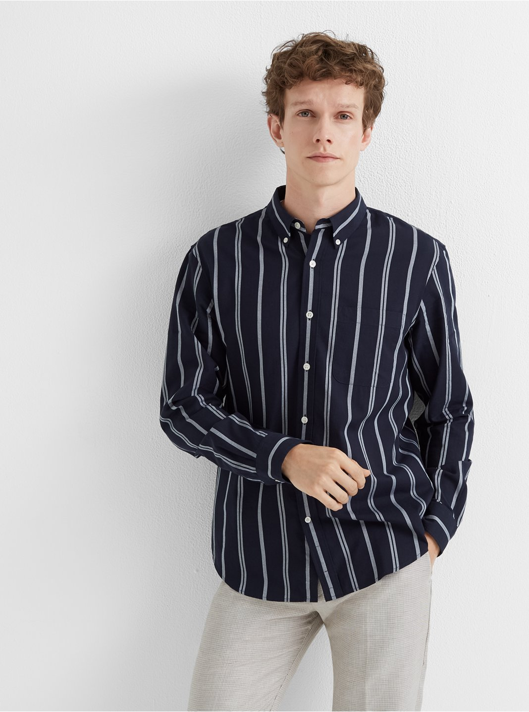 Slim Chelsea Stripe Shirt