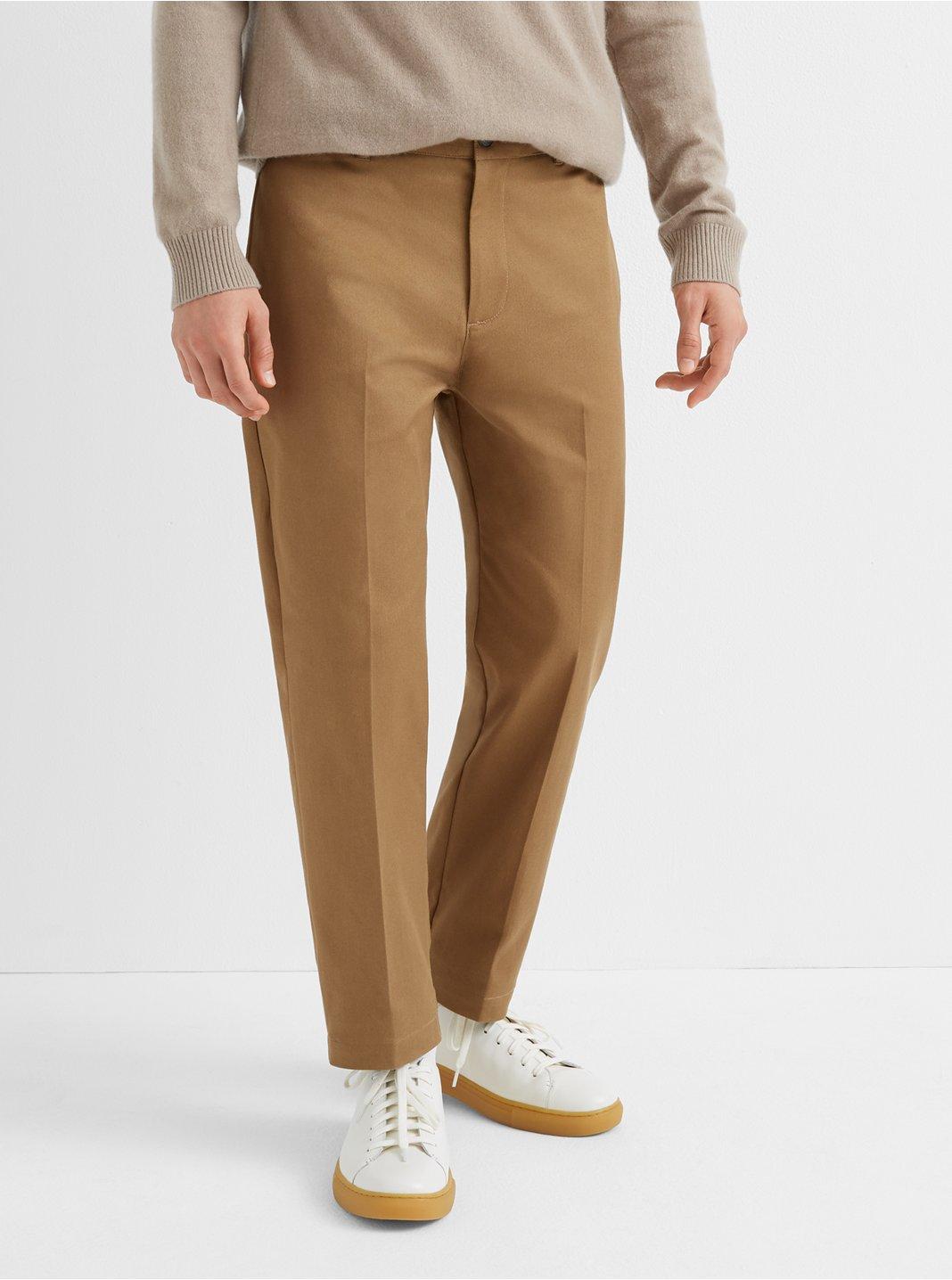클럽 모나코 Club Monaco Uniform Cropped Pants,Mocha