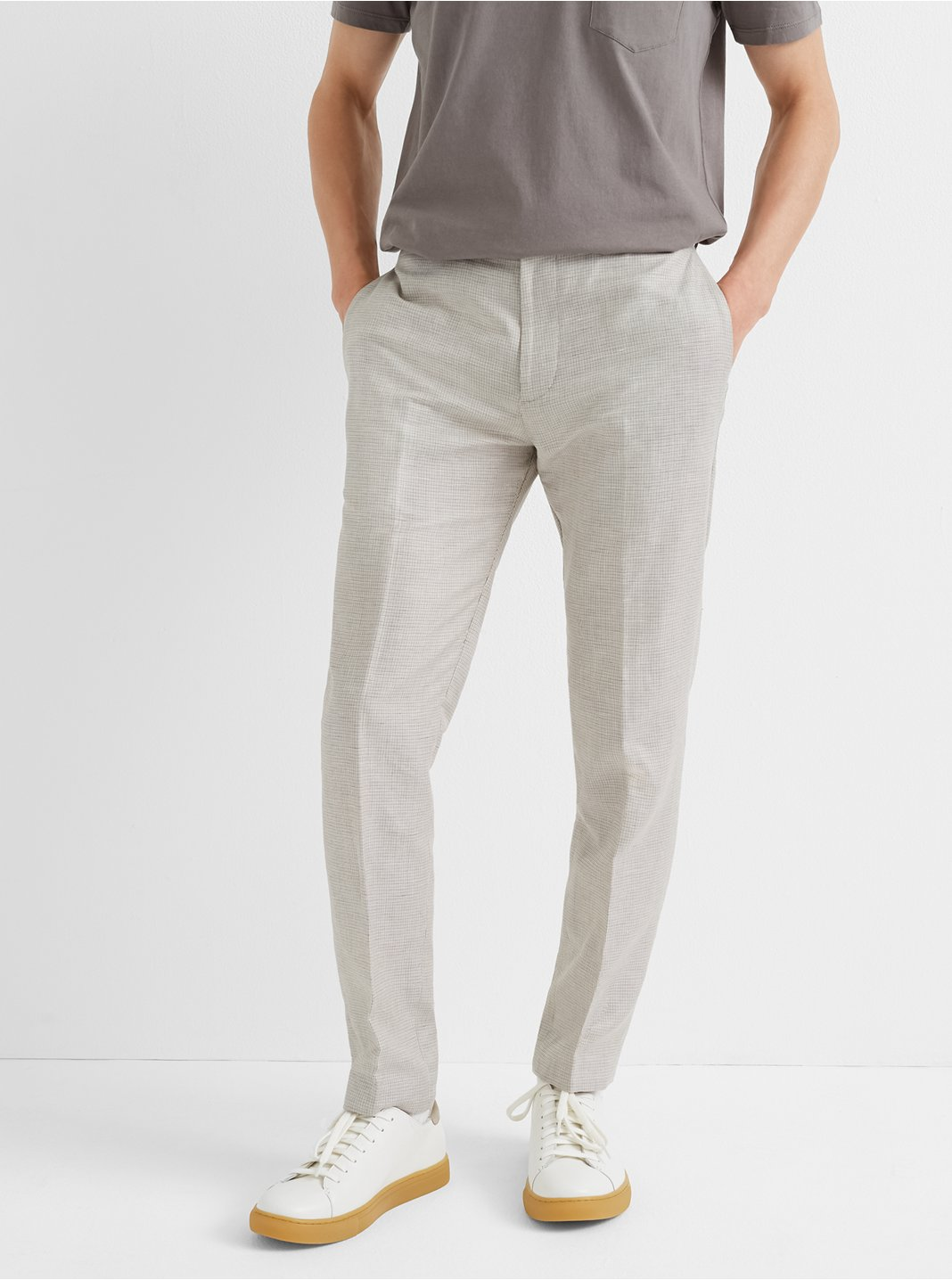 Sutton Micro-Check Pant
