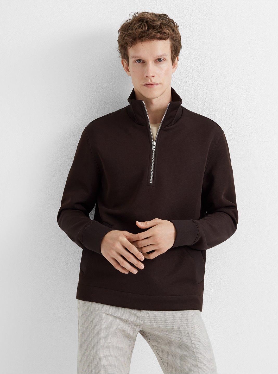 Zip Mock Pullover